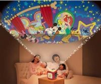 おやすみホームシアター・・・暗いお部屋で映像を映す玩具