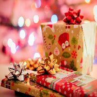 クリスマスプレゼントイラスト