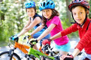 子供用自転車、サイズ、乗る練習