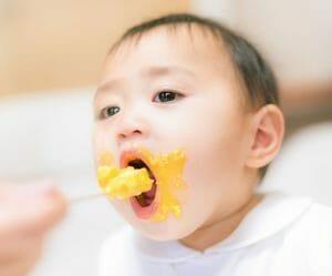 赤ちゃんの離乳食