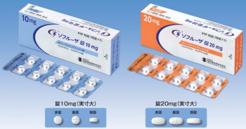 抗インフルエンザ薬【ゾフルーザ】