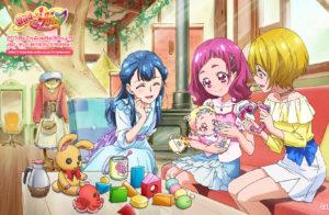 HUGっと!プリキュア。幼児・小学生向け女児向けアニメ。子育てがテーマ