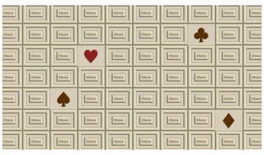 素材ライブラリ【バレンタインデーの無料イラスト画像】メッセージカード