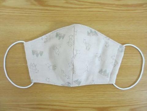 Womanexcite「型紙あり!立体マスク【大人用】」で作れるマスク