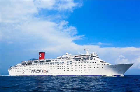 ピースボート(PEACEBOAT)のオーシャンドリーム号