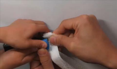 3分簡単キッチンペーパーマスクの作り方!立体プリーツ大人用子供21