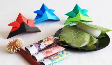【こどもの日折り紙の折り方】おりがみの時間