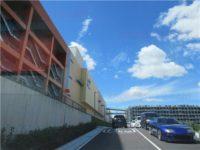 ららぽーと東郷駐車場への道